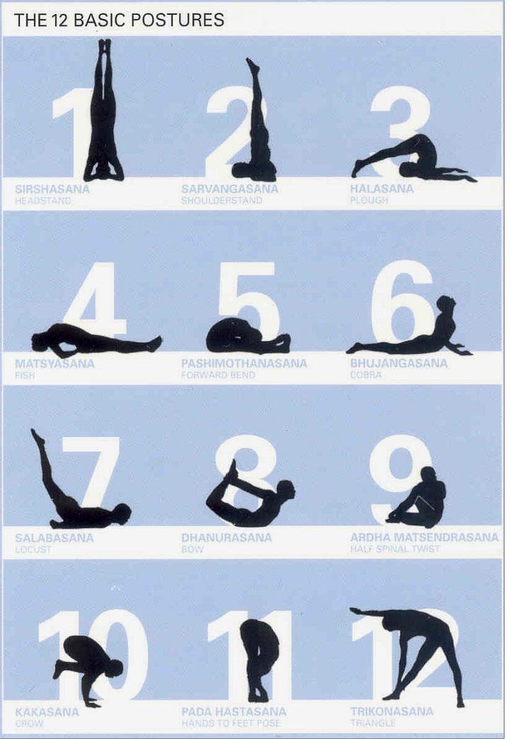 Yoga Poses For Beginners Chart Tai Chi Bali | Qigong ...