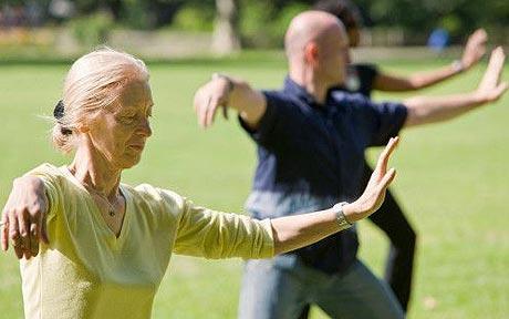Tai chi exercises for seniors