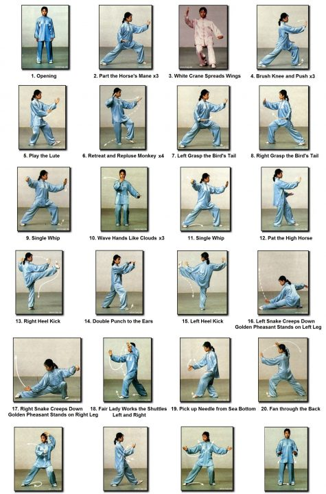24 FORMS TAICHI-poster