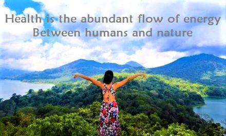 Flow of Energy Between Humans & Nature 2020